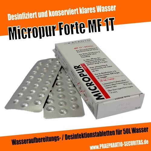 Micropur Forte MF 1T (50 St)