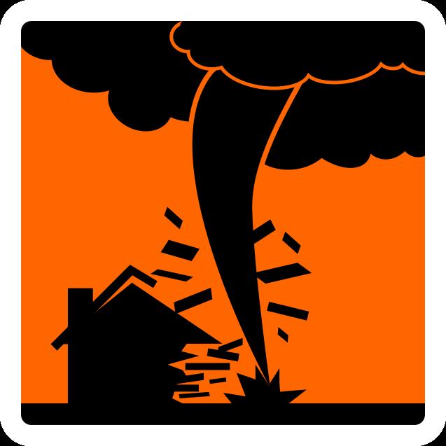 Icon Naturkatastrophe Unwetterdo