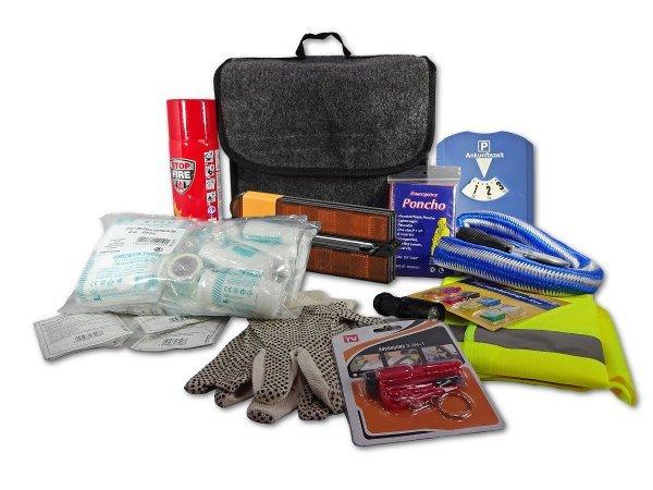 KfZ-Notfalltasche mit Inhalt