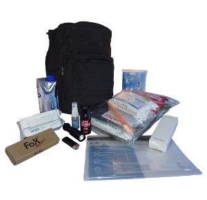 Kompakter Notfallrucksack für 24 Stunden mit Inhalt